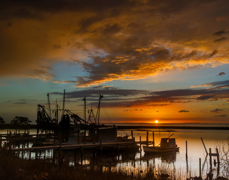 Wonderful Early Morning Capture on a cold January, Eastpoint FL Nikon D3S capture