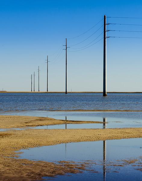 Low Tide by Saint George Island, near Apalachicola FL