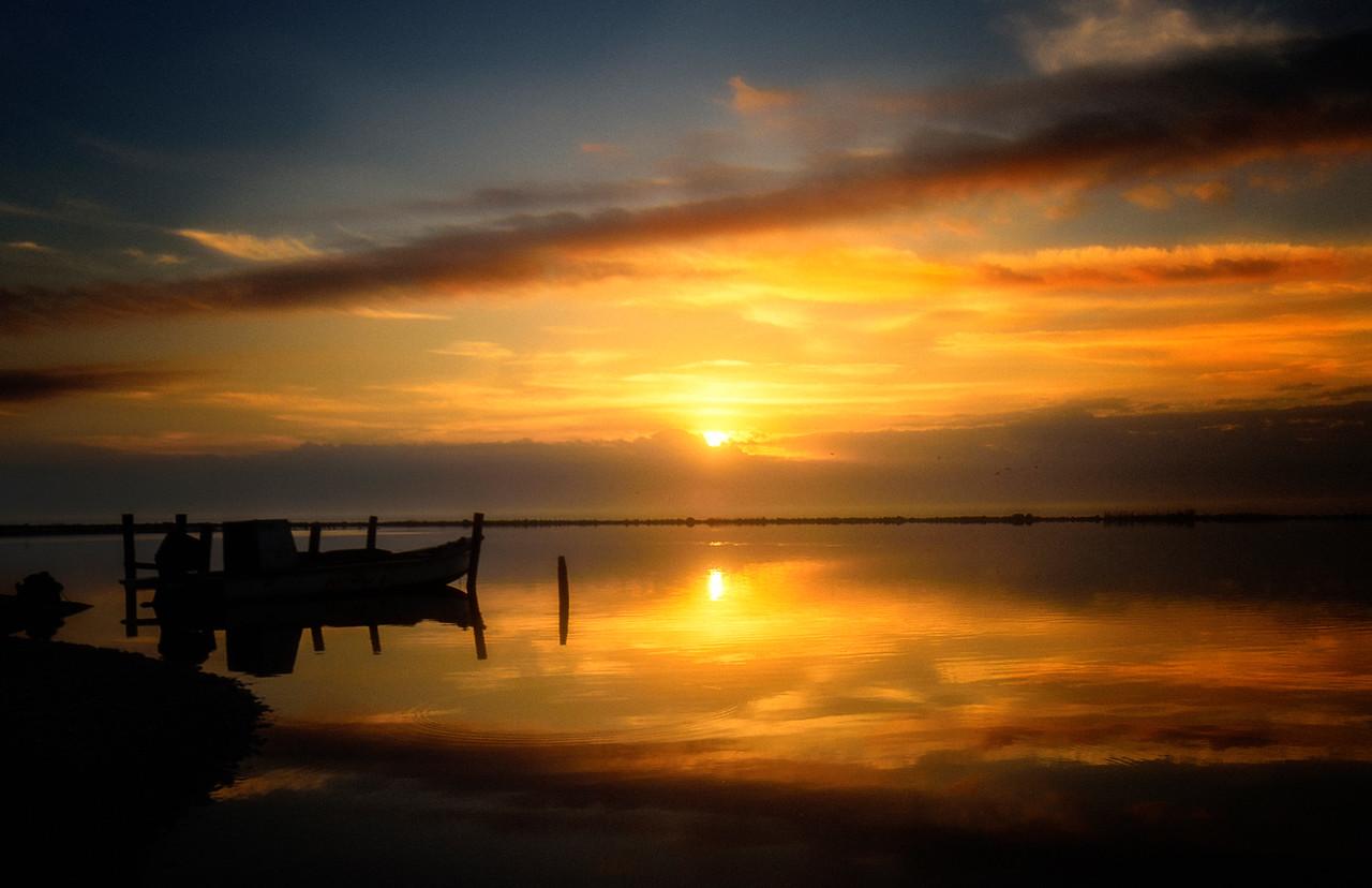 Sunrise over Eastpoint