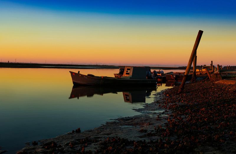 Boats ready to go for another day's work- Eastpoint, Florida
