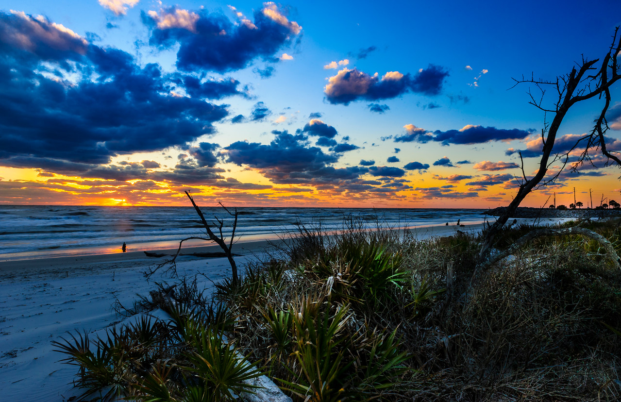 Winter Sunset at Cape San Blas, Fl