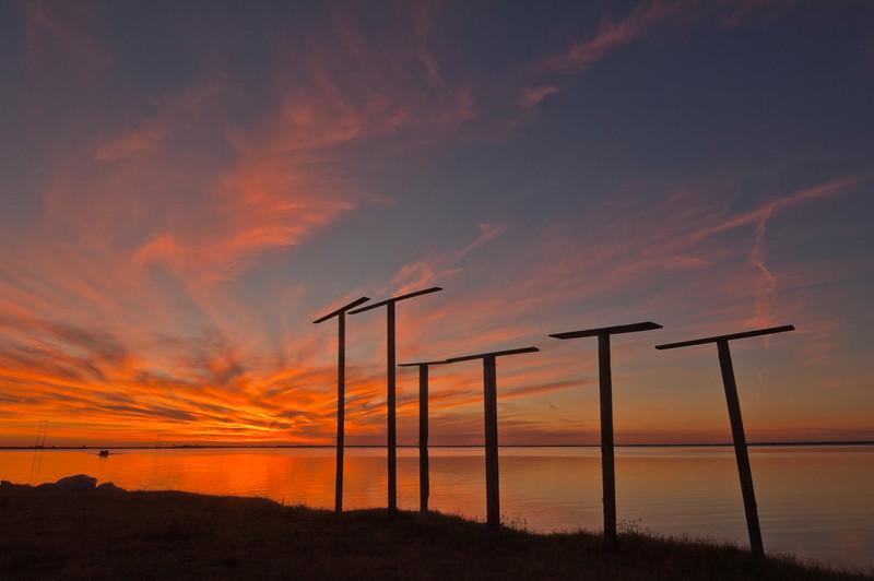 Sunset at Eastpoint, Fla