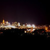 The Downtown Cincinnati skyline