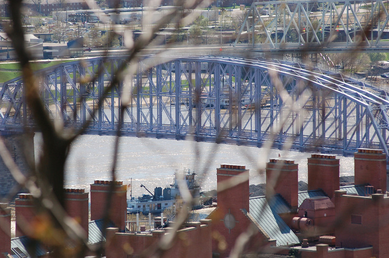 An Ohio River bridge