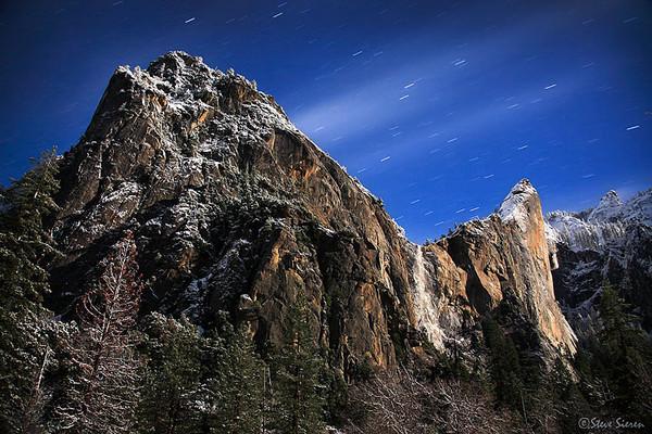 A Winter's Night - Yosemite