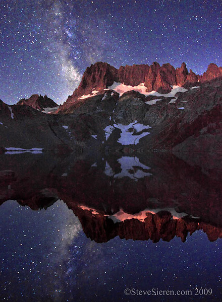 Alpen Moon Glow Minarets & Milky Way