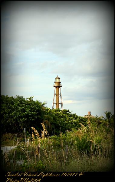 Sanibel Island Lighthouse 101411 @ PhotosRUs2008