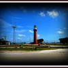 St. Johns River Lighthouse on Naval Station Maport, florida ....Sept 18, 2010