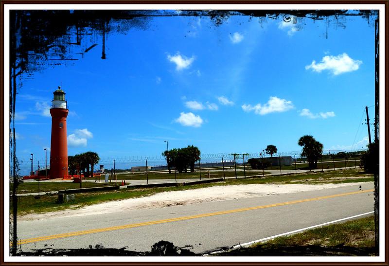 St. Johns River Lighthouse on Naval Station Maport, florida...Sept. 18, 2010