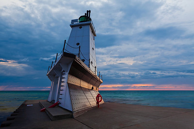 Ludington Lighthouse.