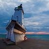 Ludington Lighthouse.