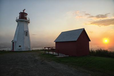 Sunset on Campobello Island