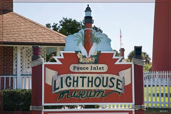 Ponce Inlet Entrance Sign