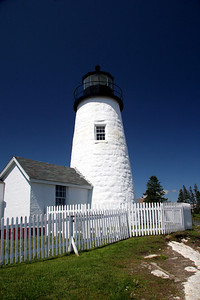 Pemaquid Point Light Built in 1835 Located in Bristol Maine #6769