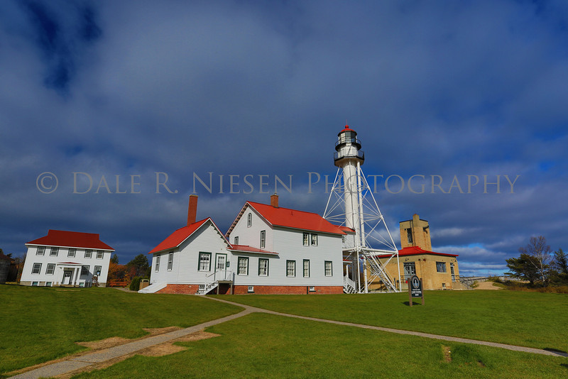 Whitefish Point Light near Paradise, Michigan (HDR photo)