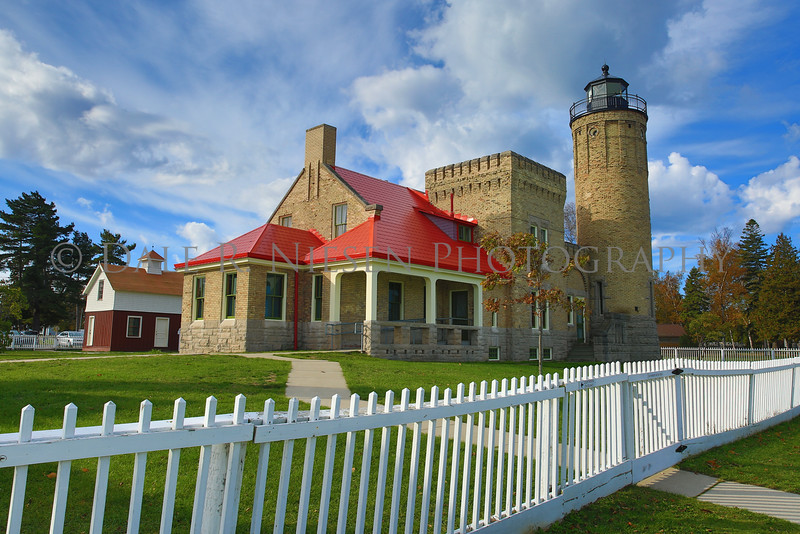 Old Mackinac Point Lighthouse , Mackinaw City, Michigan