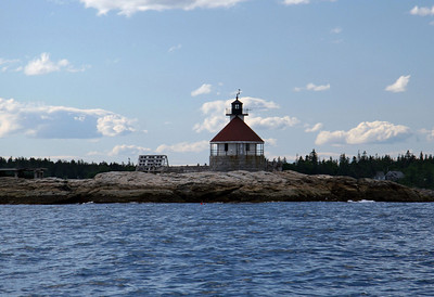 Cuckolds Light Built in 1907 Located off Cape Newagen, Maine