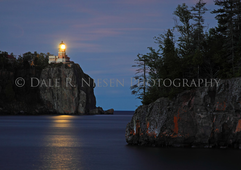 Split Rock Lighthouse, Two Harbors, Minnesota at 100 years old in 2010.