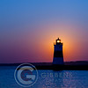 Presque Isle North Pier Lighthouse Sunrise 8/24/12 Portrait