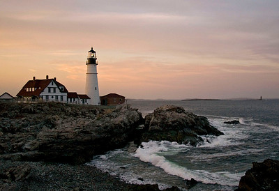 Portland Head Light Built in 1791 Located in Cape Elizabeth, Maine
