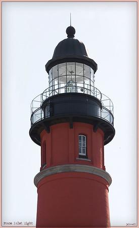 Ponce Inlet Light Upper Structure/Lantern Room