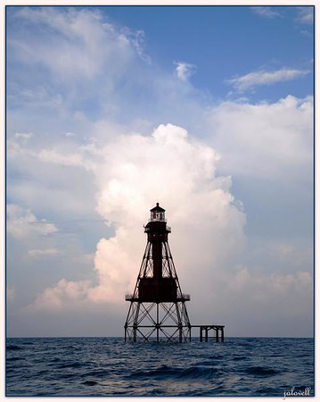 American Shoal Lighthouse at Dawn