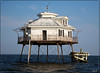 Middle Bay Light, Mobile Bay, Alabama