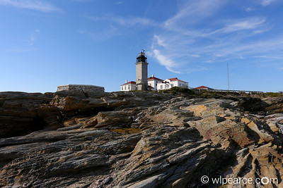 Beavertail Point Lighthouse.  Jamestown, RI