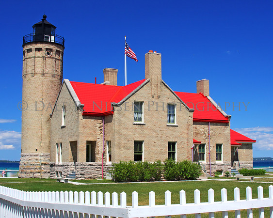 Old Mackinac Point Lighthouse, Mackinaw City, Michigan