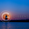 Presque Isle North Pier Lighthouse Sunrise 8/24/12 Landscape
