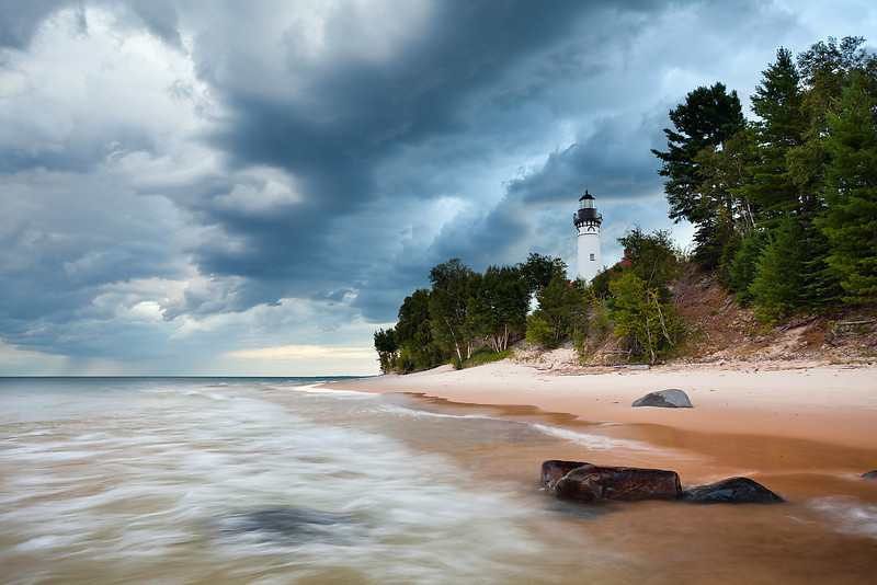 Au Sable Lighthouse.