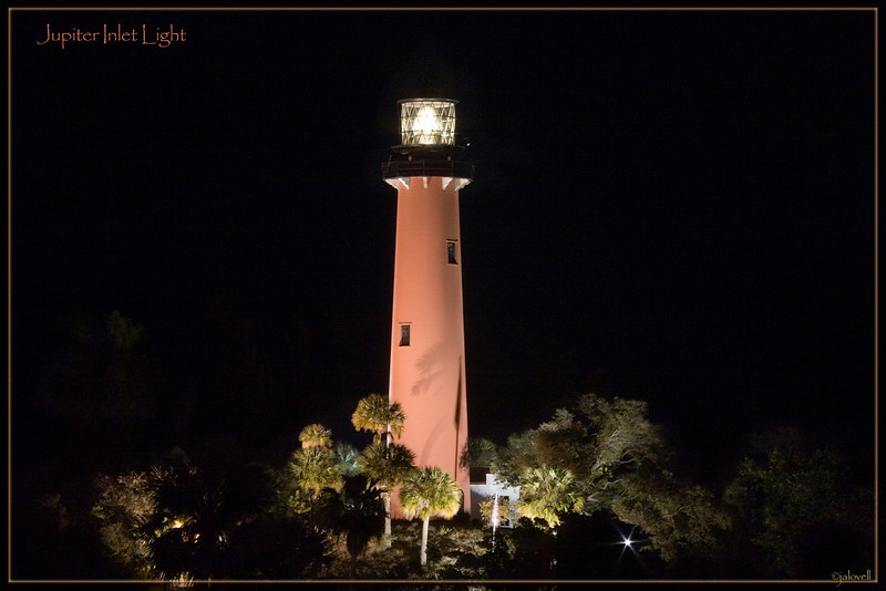 Jupiter Inlet Light: View from the bridge