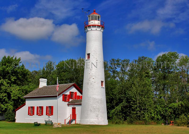 Sturgeon Point Lighthouse near Harrisville, Michigan