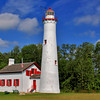 Sturgeon Point Lighthouse near Harrisville, Michigan