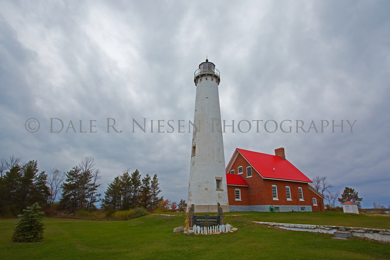 Tawas Point Light  is located in the Tawas Point State Park on Tawas Bay in Lake Huron, Baldwin Township, Michigan.