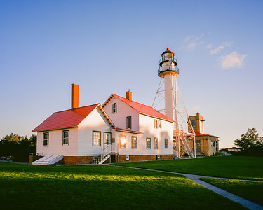"Whitefish Point Lighthouse  *For information on purchasing prints and canvas gallery wraps, click the ""Purchasing"" tab at the top of the page. If viewing on your mobile device, scroll to the bottom of the page and click the ""Full Site"" tab to view as if you were on your home PC and then go to the ""Purchase"" tab to for purchasing info. In mobile mode, you will not see the standard navigation bar with the ""Purchase"" tab."