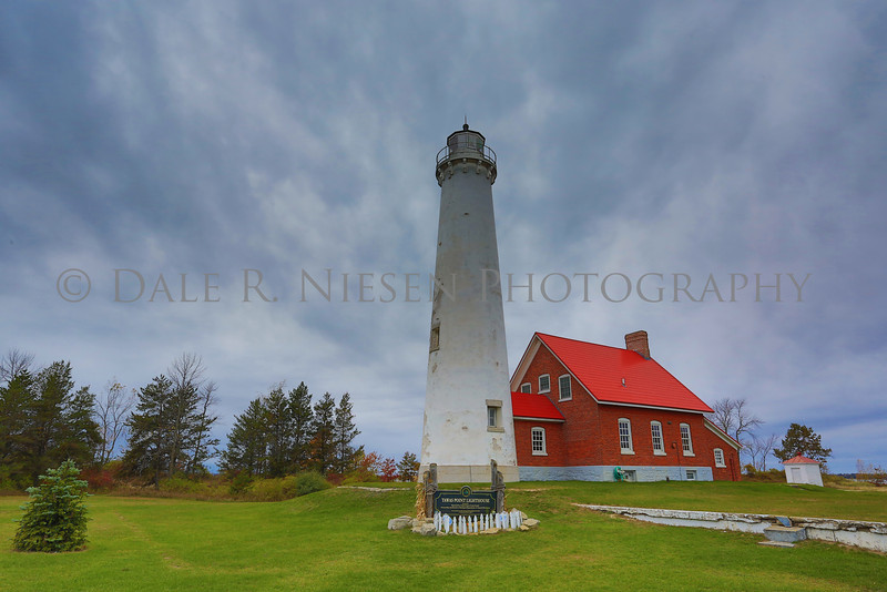 Tawas Point Light  is located in the Tawas Point State Park on Tawas Bay in Lake Huron, Baldwin Township, Michigan. (HDR photo)