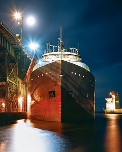 Herbert C Jackson ~ Marquette Upper Harbor Ore Docks