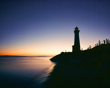 """Crisp Point Lighthouse - Sunrise  *For information on purchasing prints and canvas gallery wraps, click the """"Purchasing"""" tab at the top of the page. If viewing on your mobile device, scroll to the bottom of the page and click the """"Full Site"""" tab to view as if you were on your home PC and then go to the """"Purchase"""" tab to for purchasing info. In mobile mode, you will not see the standard navigation bar with the """"Purchase"""" tab."""