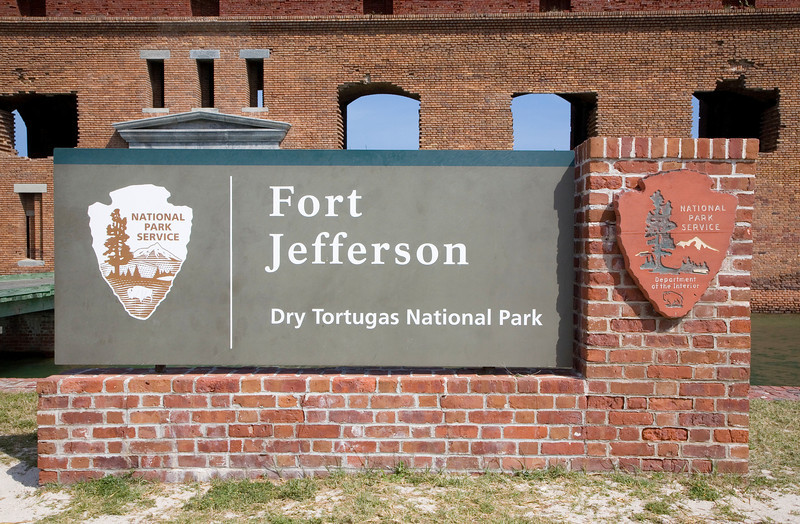 Entrance to Ft. Jefferson - Dry Tortugas