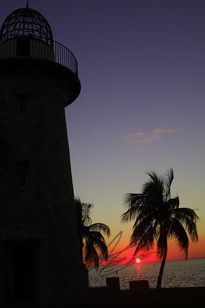 Sunset on Boca Chita Key