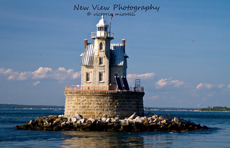 Race Rock Lighthouse, New York, Long Island Sound