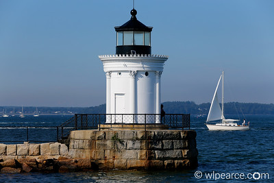 Bug Light.  Portland Harbour, ME