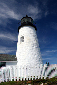 Pemaquid Point Light Built in 1835 Located in Bristol Maine #7959