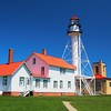 Whitefish Point Light near Paradise, Michigan