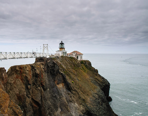Point Bonita Lighthouse & Bridge