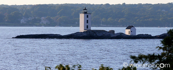 Dutch Island Light.  Jamestown, RI