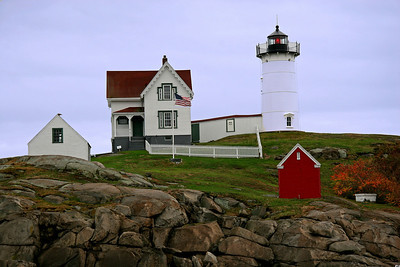 Cape Neddick (Nubble Light) Built in 1879 Located in York, Maine