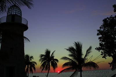 Sunset on Boca Chita Key