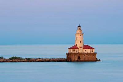 Chicago Harbor Light.